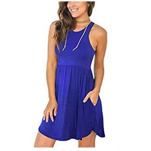 Unbranded super soft sleeveless dress